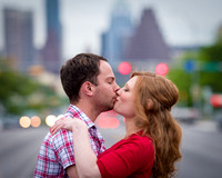 Kissing on South Congress